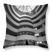 Guggenheim 2 Throw Pillow