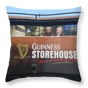 Guinness Storehouse Dublin - Ireland Throw Pillow