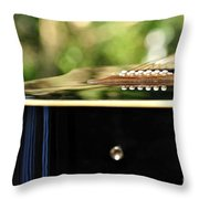 Guitar Abstract 3 Throw Pillow