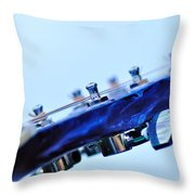 Guitar Abstract 5 Throw Pillow