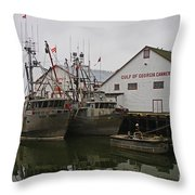 Gulf Of Georgia Co. Throw Pillow