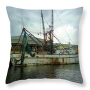 Gulf Queen  Throw Pillow