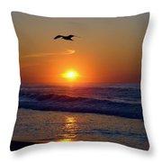 Gull Coast Throw Pillow