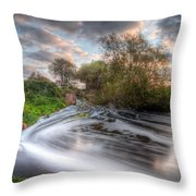 Gush Forth 1.0 Throw Pillow