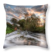 Gush Forth 2.0 Throw Pillow
