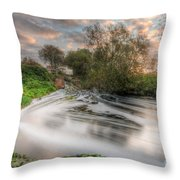 Gush Forth 3.0 Throw Pillow
