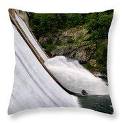Gusher Throw Pillow