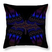 Gypsy Butterfly Throw Pillow