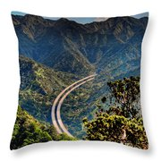 H-3 From The Aiea Loop Trail Throw Pillow