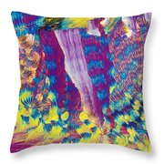 H-proline Throw Pillow