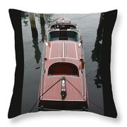 Hacker Craft At The Ready Throw Pillow