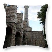 Hagia Sophia Entrance  Throw Pillow