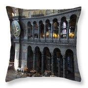 Hagia Sophia Interiour I Throw Pillow