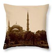 Hagia Sophia Istanbul Throw Pillow