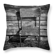 Hair Cut  Throw Pillow by Empty Wall