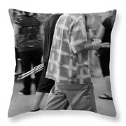 Hairdo Throw Pillow