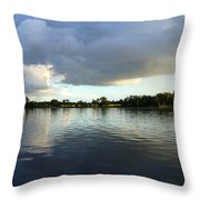 Halcyone Throw Pillow