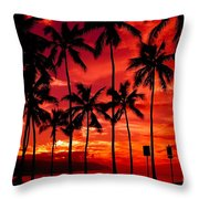 Haleiwa Throw Pillow