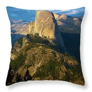 Half Dome From Washburn Point Throw Pillow
