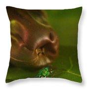 Halicid Bee 2 Throw Pillow