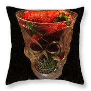 Halloween Desert Throw Pillow