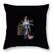 Halloween Fantasy Throw Pillow