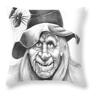 Halloween Weeotch Throw Pillow