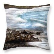 Hana Wave Throw Pillow