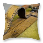 Handle On A Suitcase  Throw Pillow