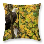 Hang Around For Dinner Throw Pillow