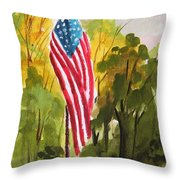 Hanging Gracefully Throw Pillow