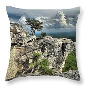 Hanging In North Carolina Throw Pillow
