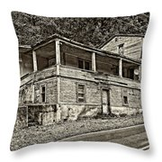 Hanging In Sepia Throw Pillow
