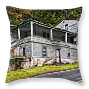 Hanging In Throw Pillow