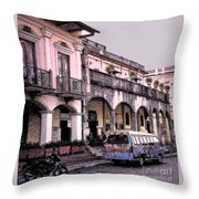 Hanging Out In Granada  Throw Pillow