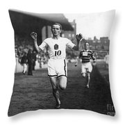 Hannes Kolehmainen Throw Pillow by Granger