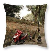 Hanoi Hammock Throw Pillow