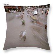 Hanoi Motion Throw Pillow