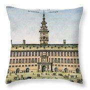 Hanseatic League, Antwerp Throw Pillow by Granger