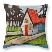 Happily Ever After Stonewall Cottage Throw Pillow