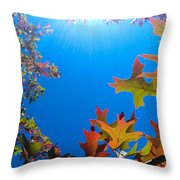 Happy Autumn Throw Pillow