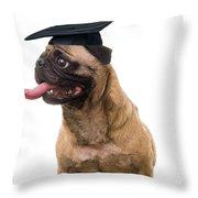 Happy Graduation Throw Pillow by Edward Fielding