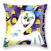 Happy Halloween - 2 Throw Pillow