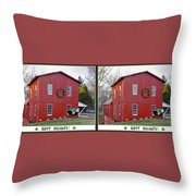 Happy Holidays - Gently Cross Your Eyes And Focus On The Middle Image Throw Pillow