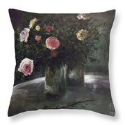 Happy On The Inside  Throw Pillow