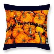Happy Thanksgiving Art Throw Pillow
