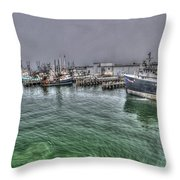 Harbor Dawn Throw Pillow
