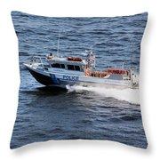 Harbor Police Throw Pillow