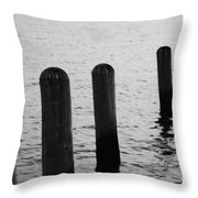 Harbor Ties Throw Pillow