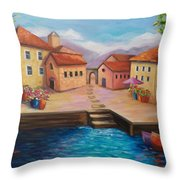 Harbourfront Throw Pillow